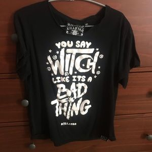 Killstar You Say Witch Like It's A Bad Thing Tee